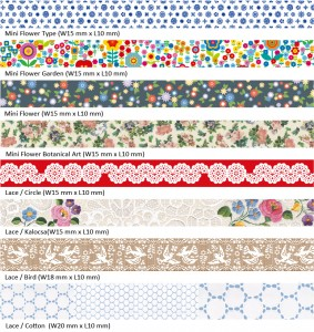 Dekortapasz MT washi tape Dekorellashop.hu